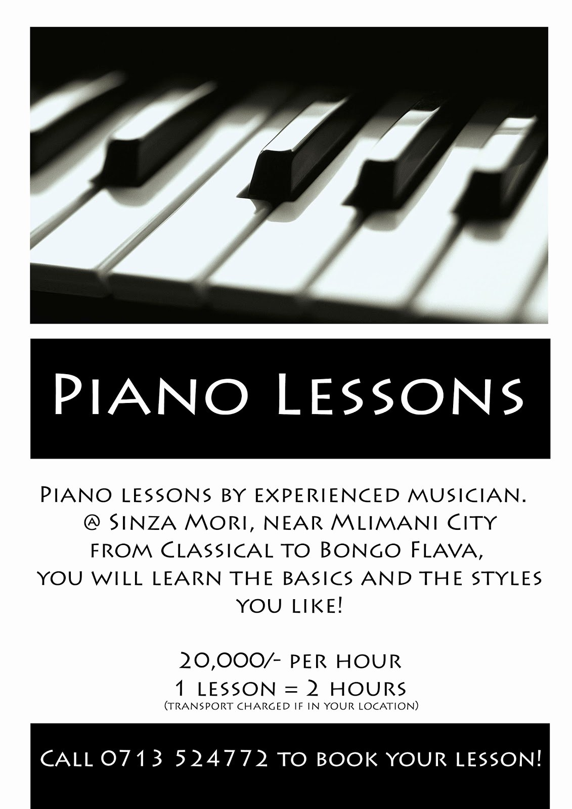Music Lesson Flyer Template Luxury Ronnaprekle S Blog