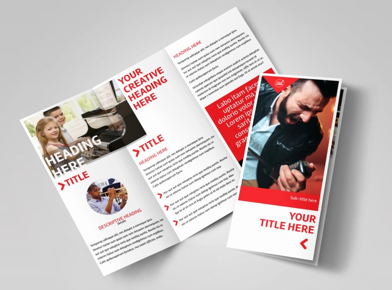 Music Lesson Flyer Template New Music Lessons Brochure Template