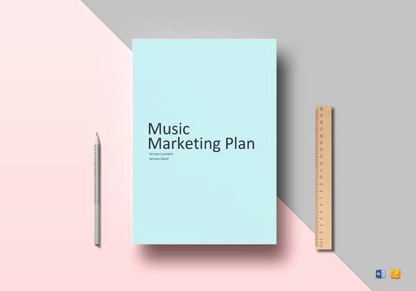 Music Marketing Plan Template Beautiful 14 Marketing Plan Outline Samples