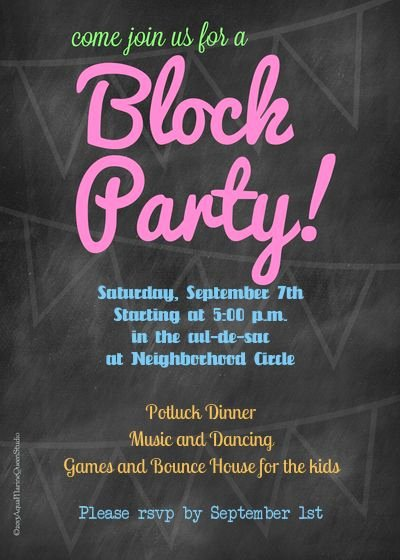 Neighborhood Block Party Flyer Template Awesome 35 Best Images About Neighborhood Party On Pinterest