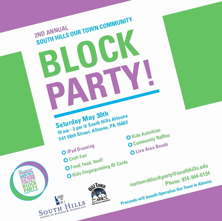 Neighborhood Block Party Flyer Template Awesome Munity Block Party May 30