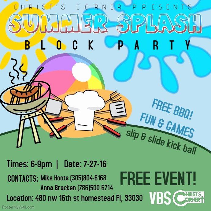 Neighborhood Block Party Flyer Template Beautiful Block Party Flyer Templates