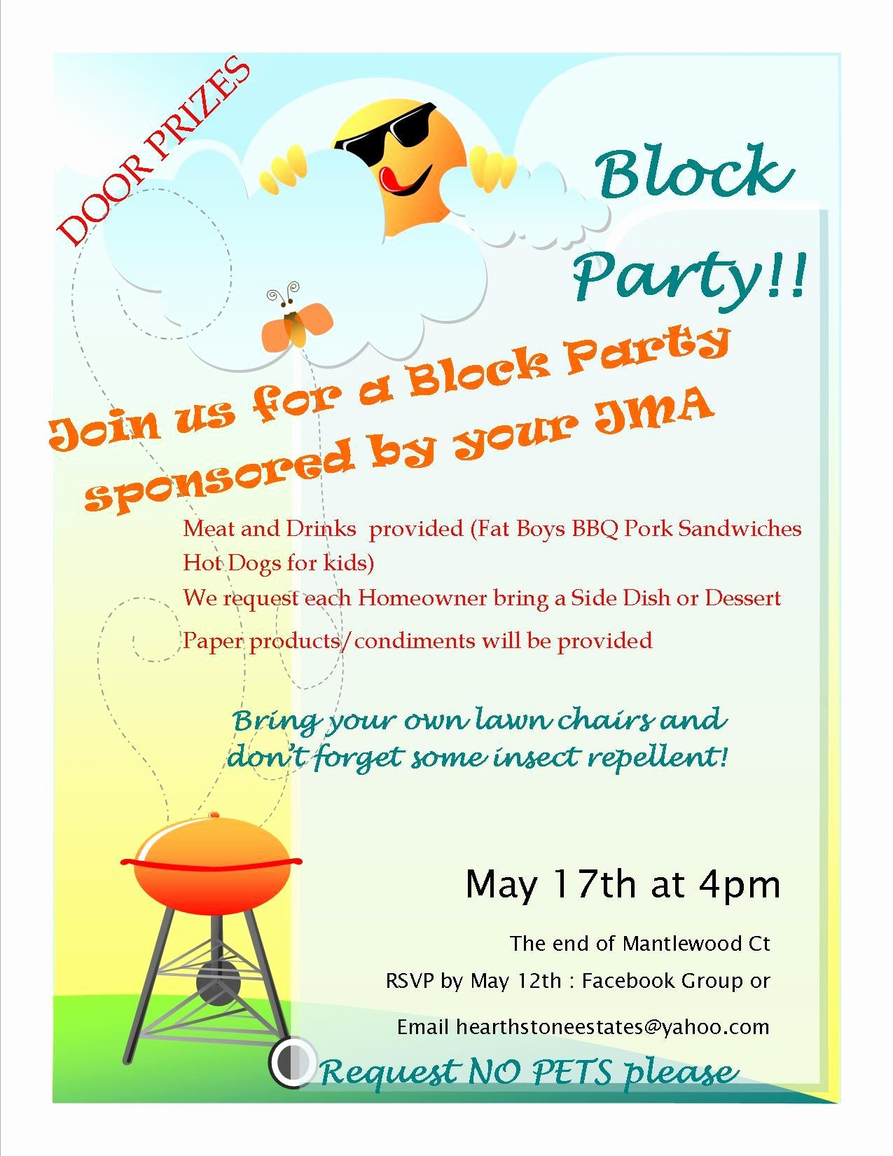 Neighborhood Block Party Flyer Template Elegant Block Party Flyer