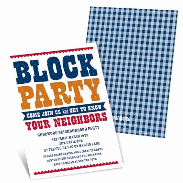 "Neighborhood Block Party Flyer Template Luxury Throw A ""meet the Neighbors"" Party the Celebration society"