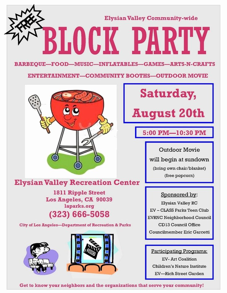 Neighborhood Block Party Flyer Template Unique 10 Best Of Block Party Flyer Template Free Bbq
