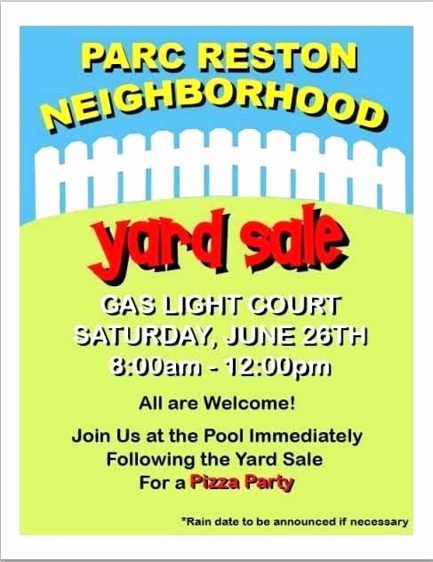 Neighborhood Block Party Flyer Template Unique Neighborhood Block Party Flyer Template Free Yard Sale