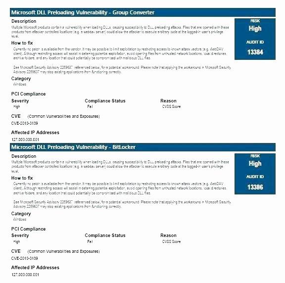 Network Infrastructure assessment Template Best Of Risk assessment Report Template Example Risk assessment
