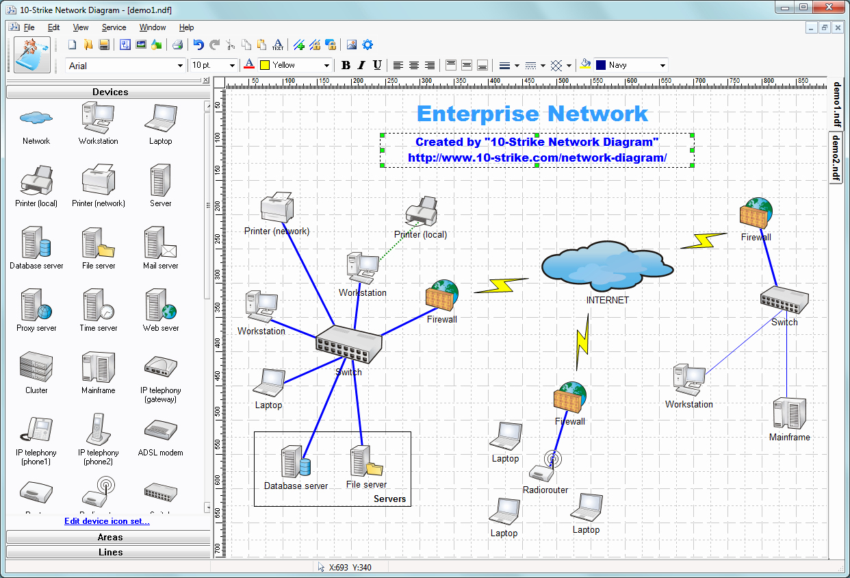 Network Infrastructure assessment Template Elegant 10 Strike Network Diagram 2 5 تحميل تنزيل مجانا