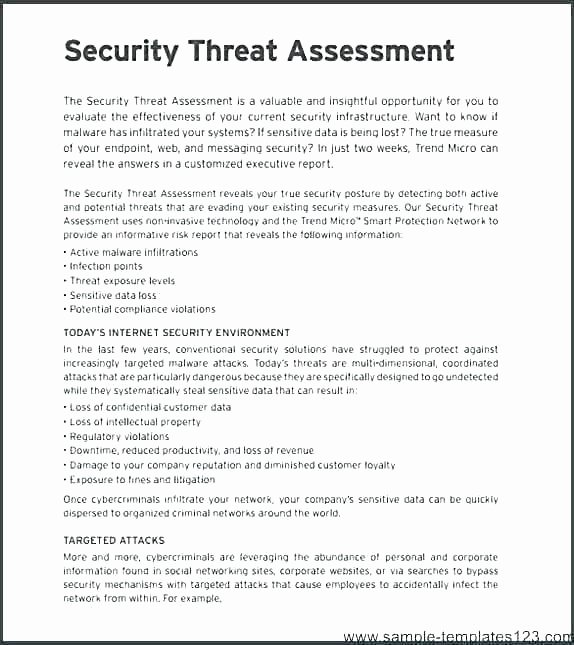 Network Infrastructure assessment Template Lovely Network Risk assessment Template Site Survey Template
