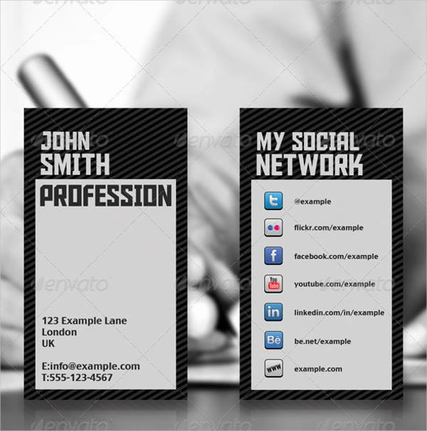 Networking Business Card Template Unique 9 Networking Business Card Templates