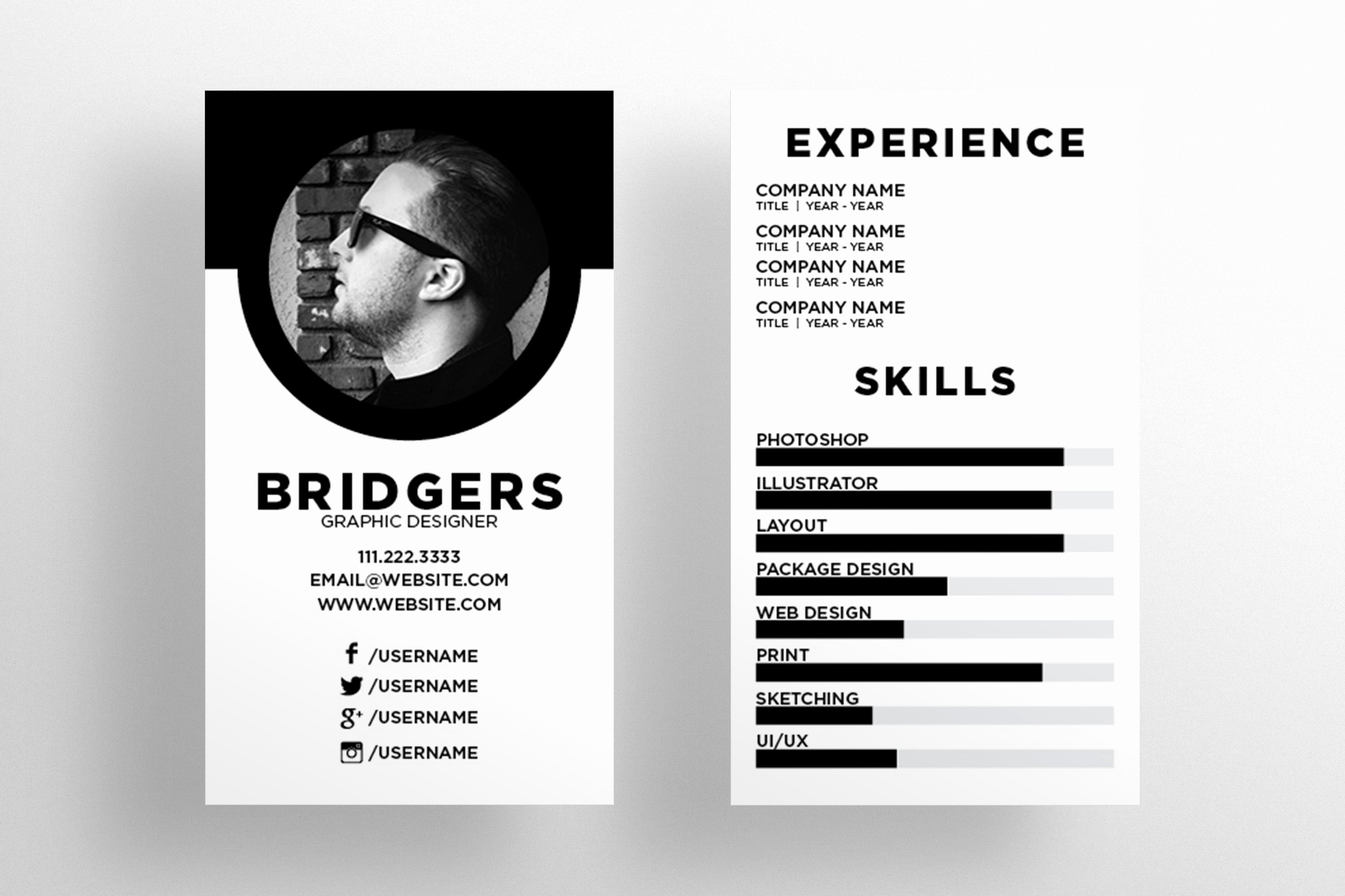 Networking Business Cards Template Fresh the Resume Business Card Template Business Card