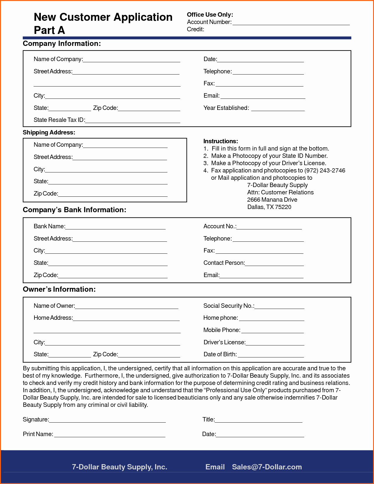New Customer form Template Word Elegant New Customer form Template Word Portablegasgrillweber