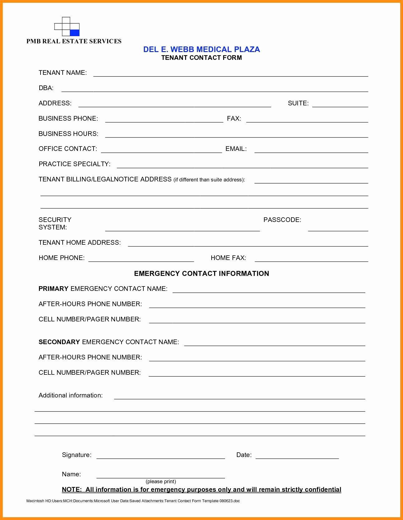 New Customer form Template Word Luxury 6 Customer Enquiry form Template Word