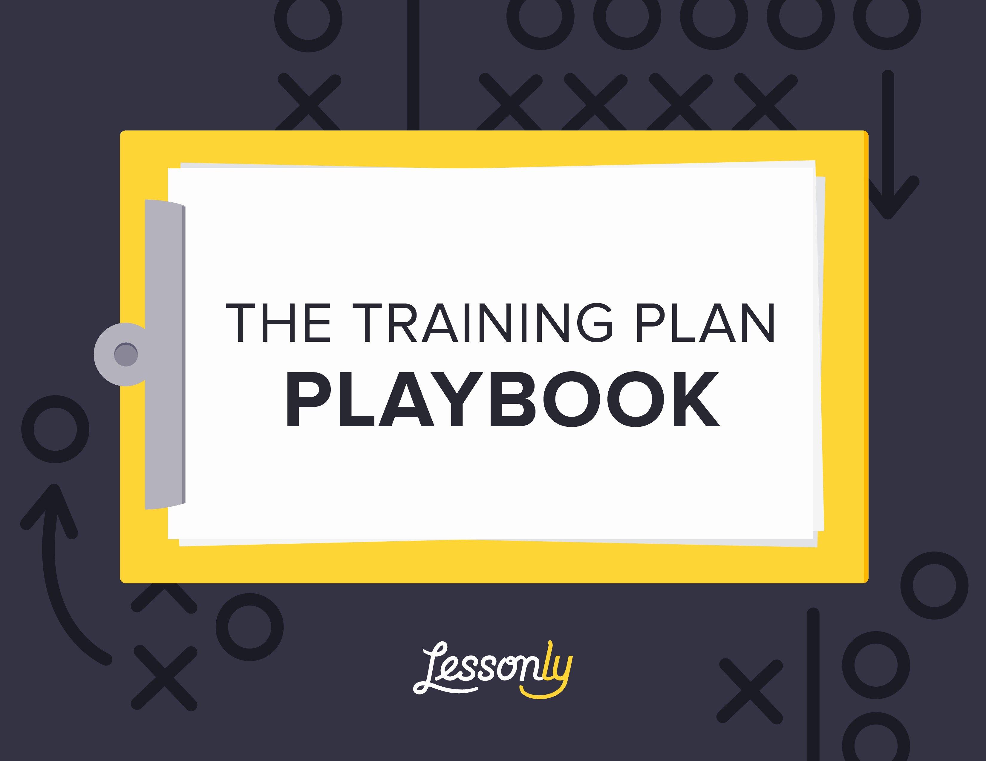 New Employee Training Plan Template New Free Employee Training Playbook