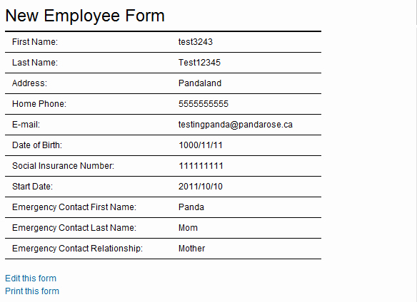 New Hire form Template Fresh New Employee form Template Search Results