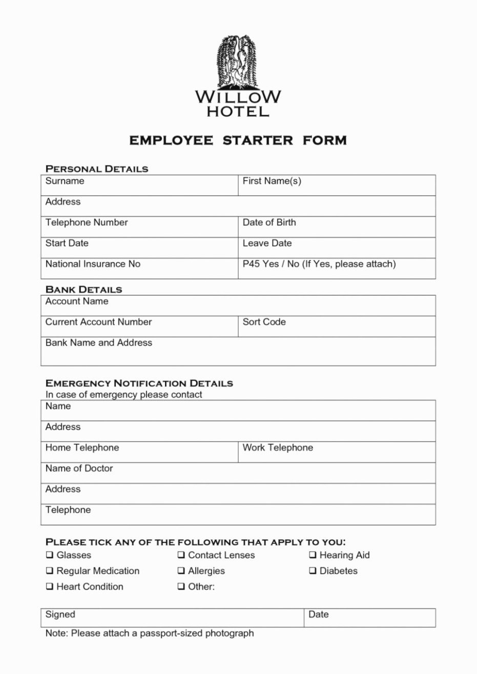 New Hire form Template Inspirational the Modern Rules New
