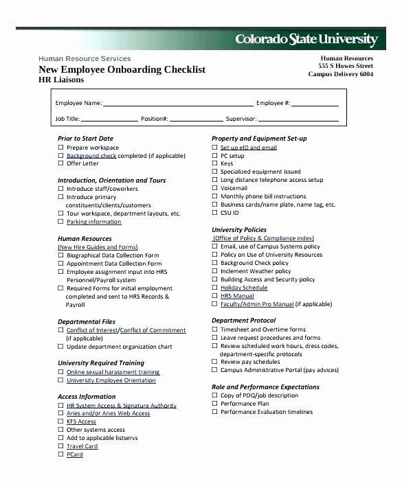 New Hire form Template Lovely New Hire forms Template Employment Staff Declaration form