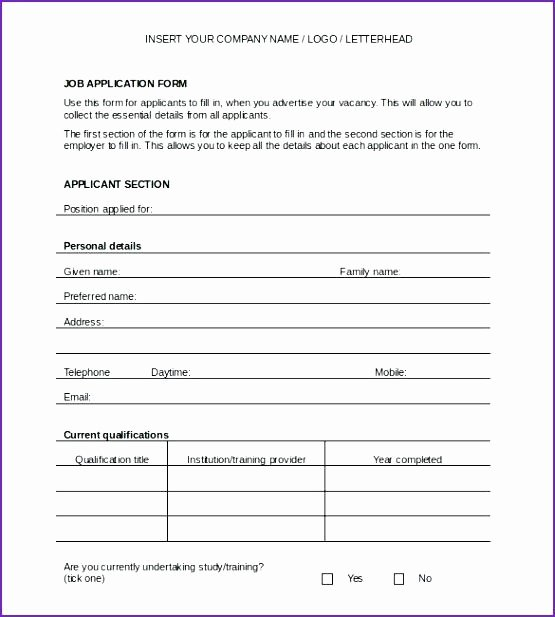 New Hire form Template Unique New Hire form Template – Buildingcontractor