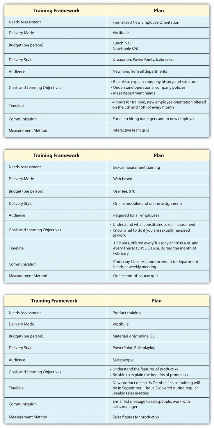 New Hire Training Plan Template Luxury New Employee Training Plan Template Inquire before Your