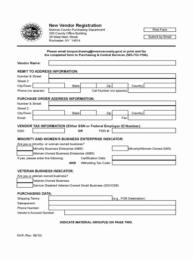 New Vendor Information form Template New Image Result for Vendor Registration form Template