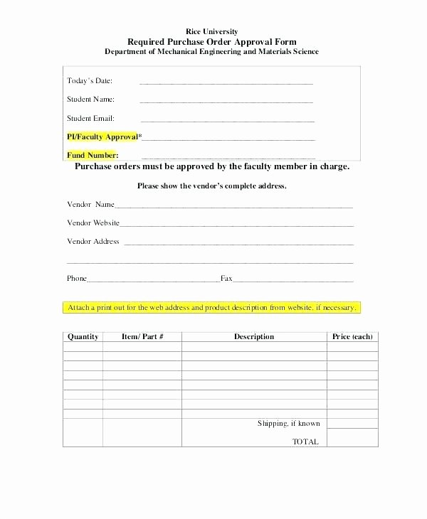 New Vendor Information form Template Unique New Supplier form Template – Arabnormafo