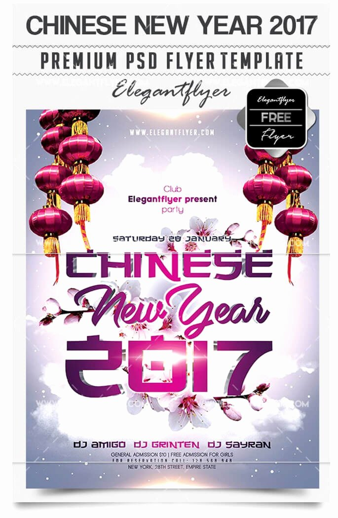 New Year Flyer Template Best Of 29 Free New Year Flyer Templates In Psd Vector Ai Tech