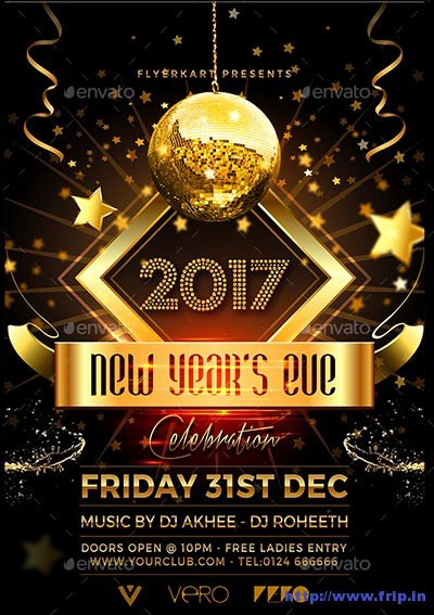 New Year Flyers Template Best Of 85 Best New Year Flyer Print Templates 2017