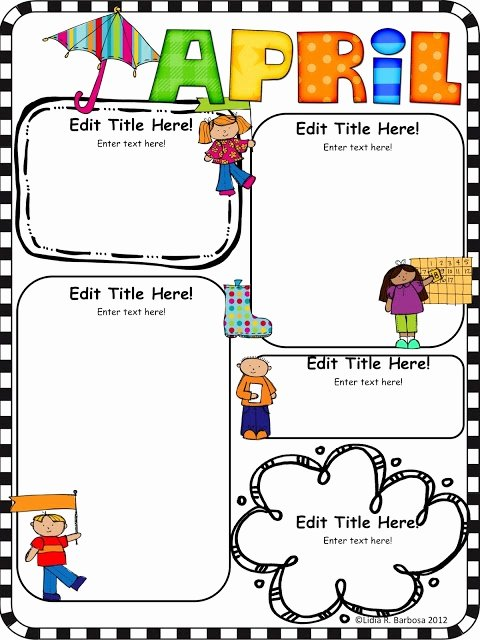 Newsletter for Preschool Parents Template Beautiful Best 25 Preschool Newsletter Ideas On Pinterest