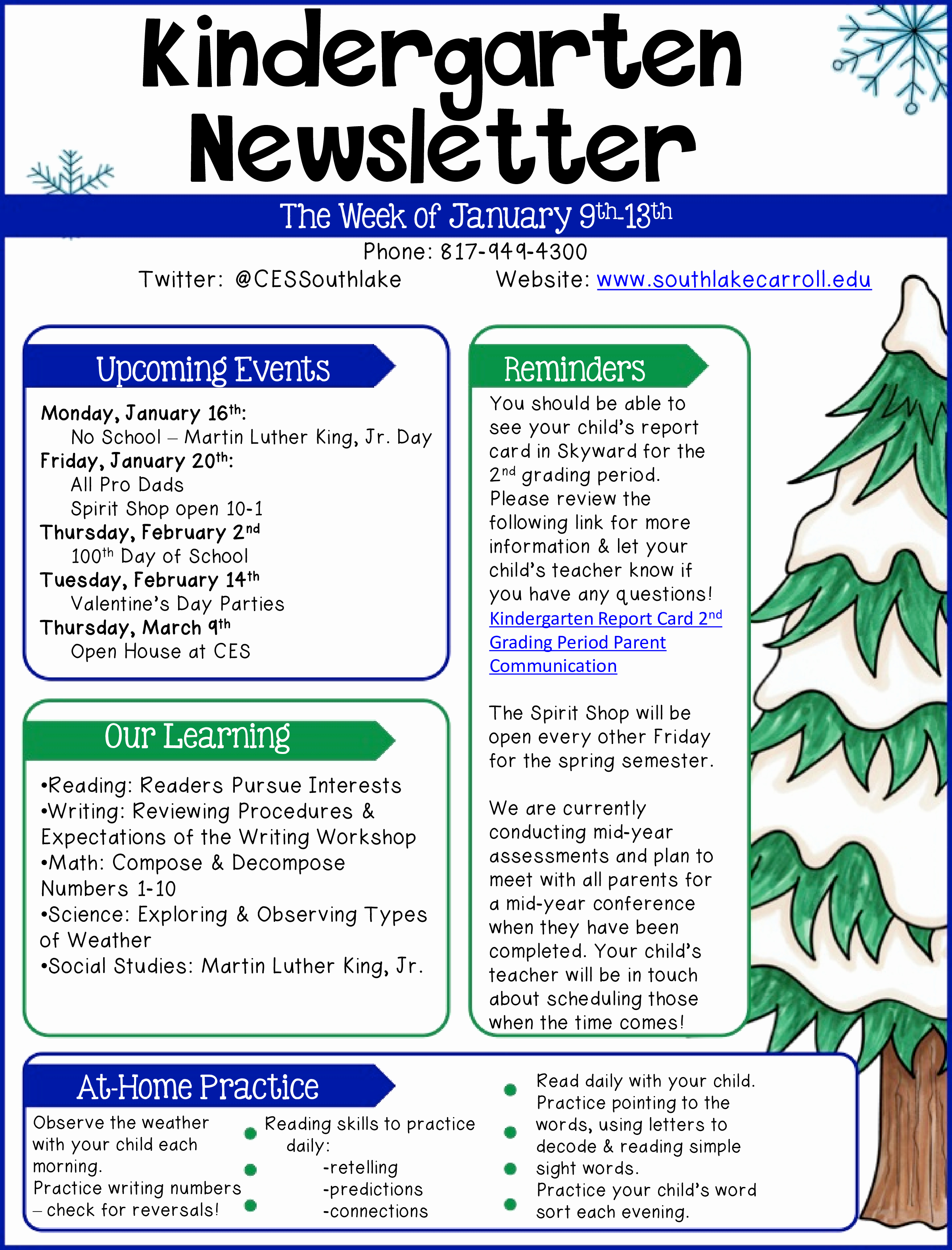 Newsletter for Preschool Parents Template Fresh Free Kindergarten Newsletter Example