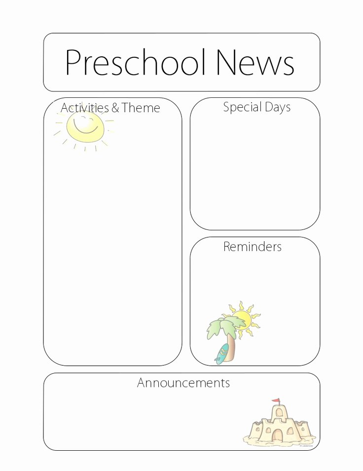 Newsletter for Preschool Parents Template Unique 51 Best Images About Talking to Parents On Pinterest