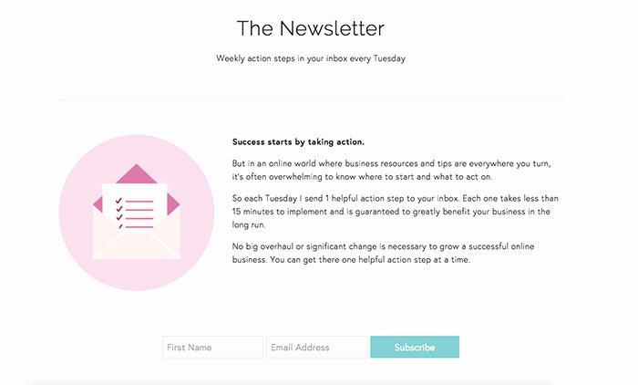 Newsletter Signup form Template Fresh Newsletter Signup forms that Rock – Inspirations