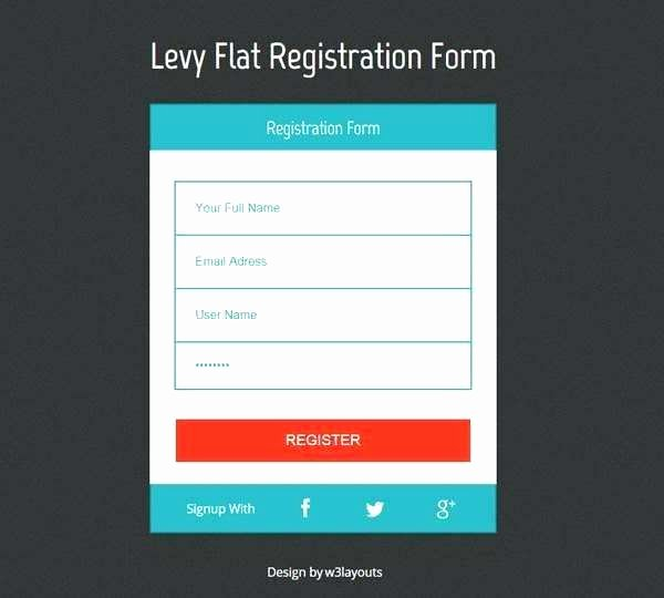 Newsletter Signup form Template New Newsletter Signup form Template