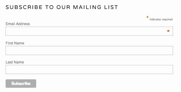 Newsletter Signup form Template New why I Switched to Using Convertkit as My Email Service