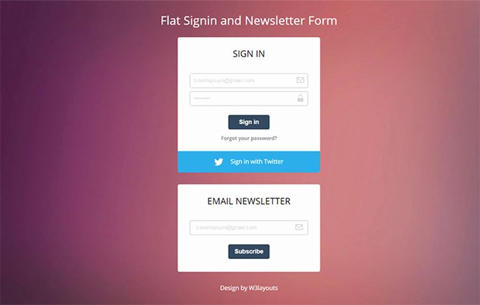 Newsletter Signup form Template Unique Newsletter Signup forms that Rock – Inspirations