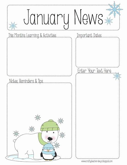 Newsletter Template for Preschool Best Of Best 25 Preschool Newsletter Ideas On Pinterest