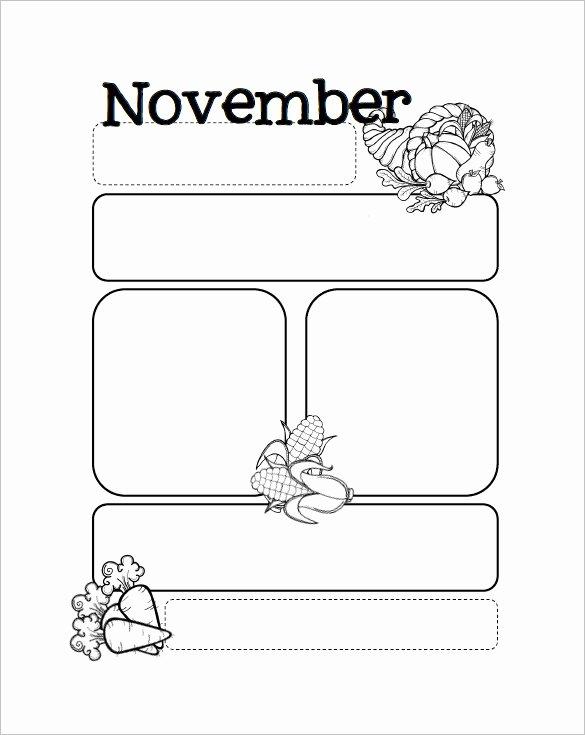 Newsletter Template for Preschool Fresh 13 Printable Preschool Newsletter Templates Pdf Doc