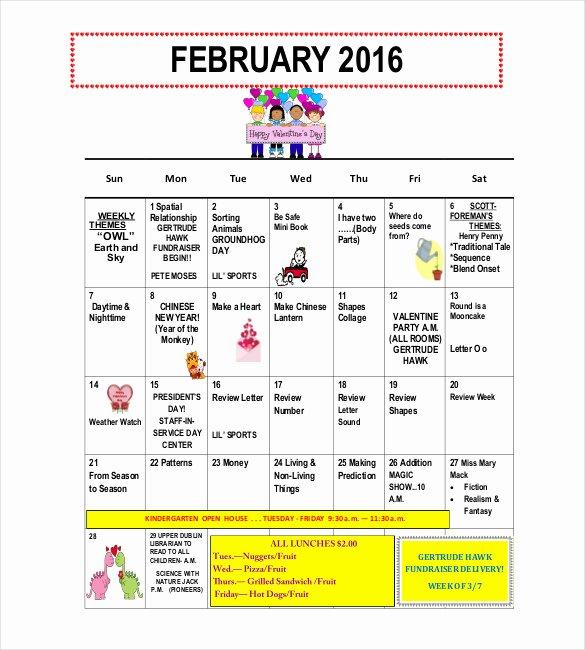 Newsletter Template for Preschool Inspirational 10 Preschool Newsletter Templates – Free Sample Example