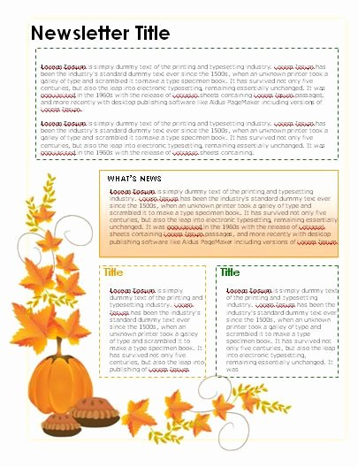 Newsletter Template for Word Awesome Free Teacher Newsletter Templates Downloads