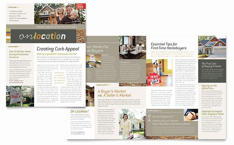 Newsletter Template for Word Elegant Free Newsletter Template Word & Publisher Templates