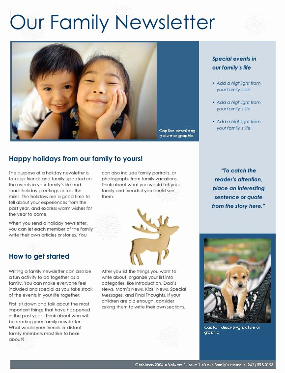 Newsletter Template for Word Elegant the Best Websites for Free High Quality Newsletter Templates
