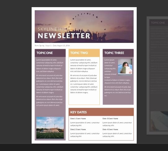 Newsletter Template for Word Lovely 25 Best Ideas About Newsletter Template Free On Pinterest