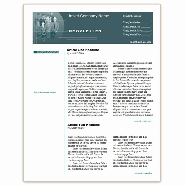 Newsletter Template for Word Lovely where to Find Free Church Newsletters Templates for