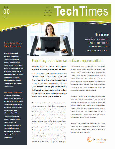 Newsletter Template for Word New Newsletter Templates Word