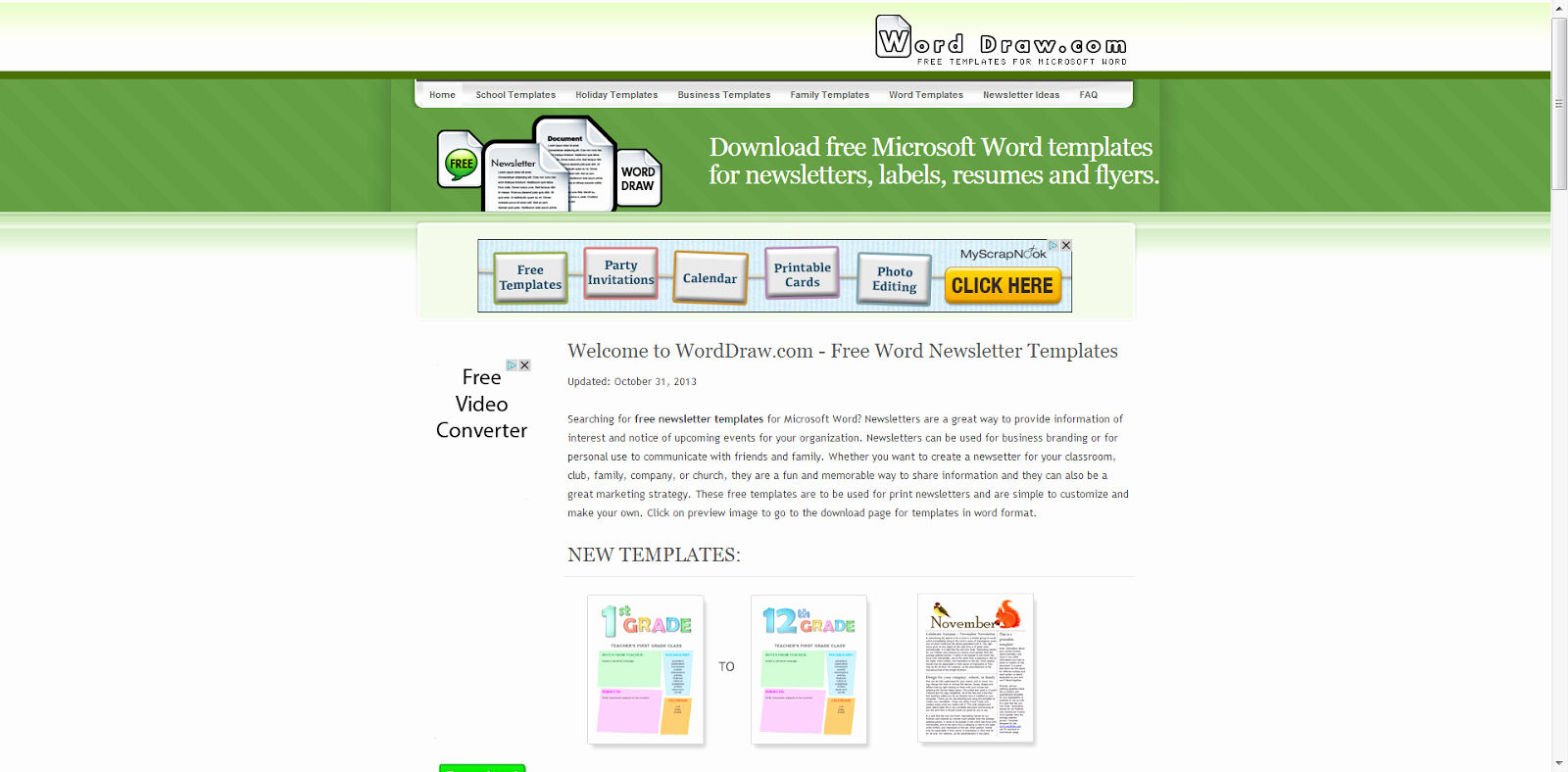 Newsletter Template Microsoft Word Fresh Learning Never Stops 8 Free Websites to Create Cool