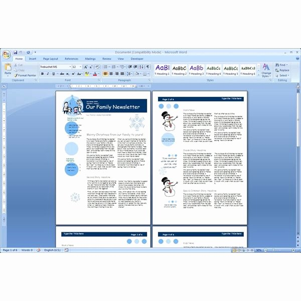 Newsletter Template Microsoft Word Unique Download the top Free Microsoft Word Templates Newsletters