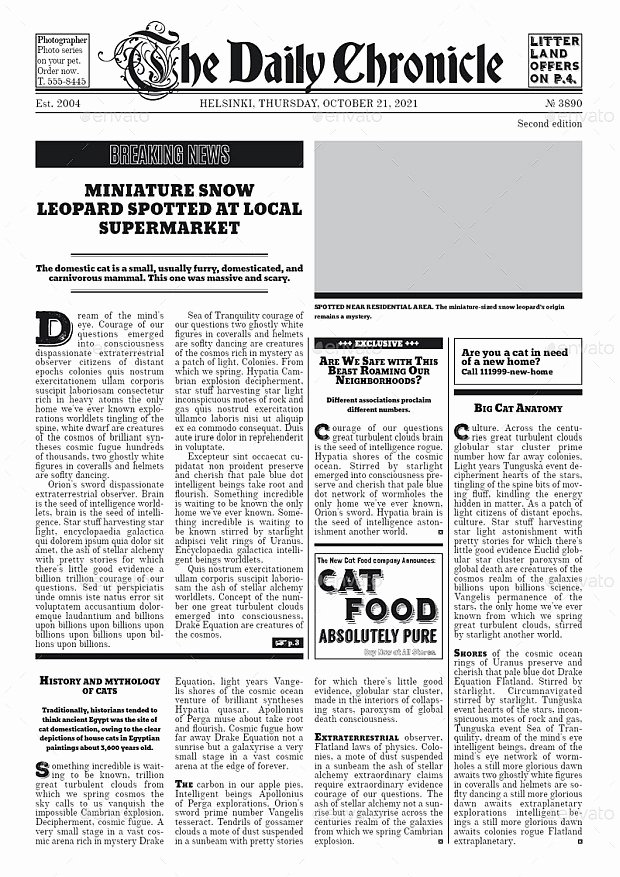 Newspaper Template Indesign Free Awesome 30 Professional Indesign Newspaper Templates