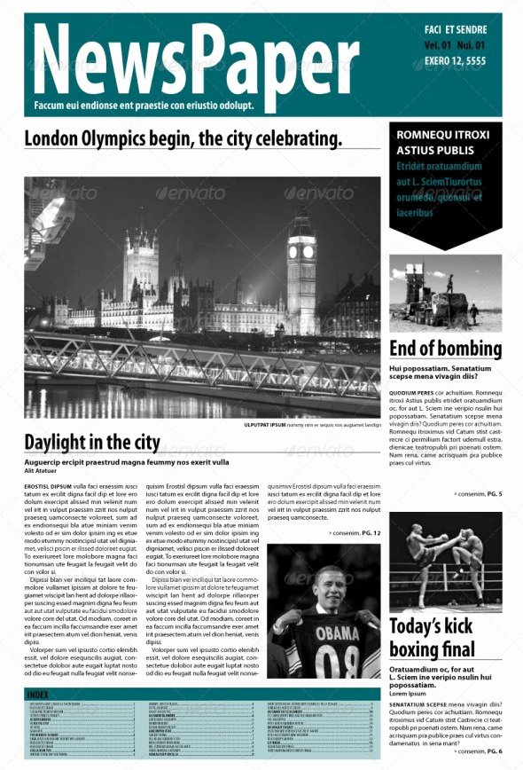 Newspaper Template Indesign Free Awesome 35 Best Newspaper Templates In Indesign and Psd formats