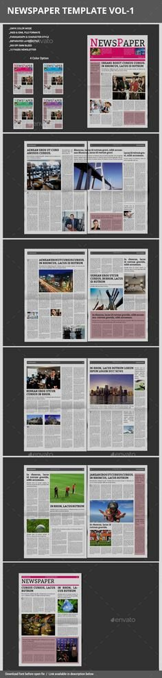 Newspaper Template Indesign Free Awesome Newspaper Template for Adobe Indesign Cs6