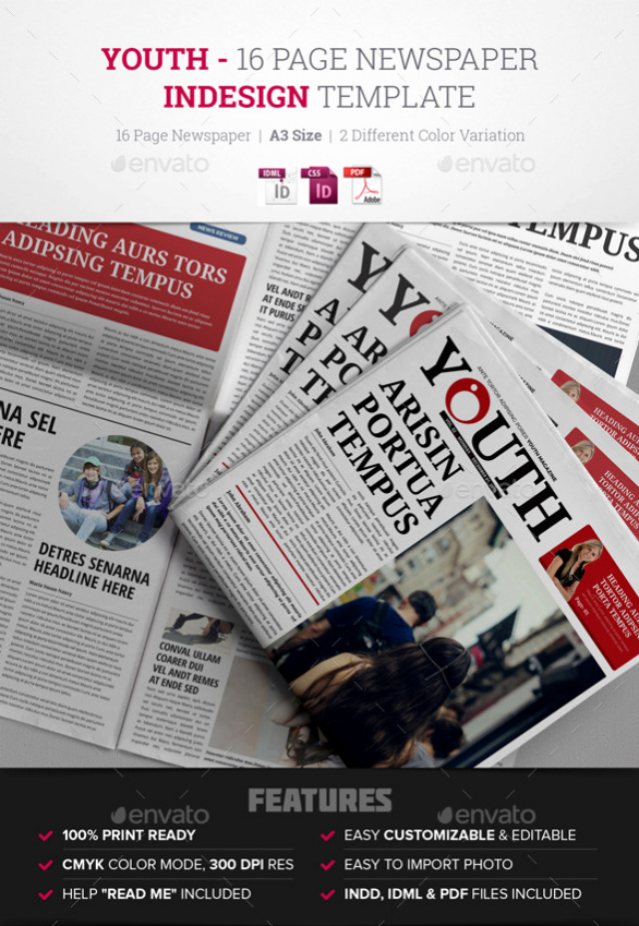 Newspaper Template Indesign Free Beautiful 15 Best Indesign Newspaper Templates 2016 Tutorial Zone