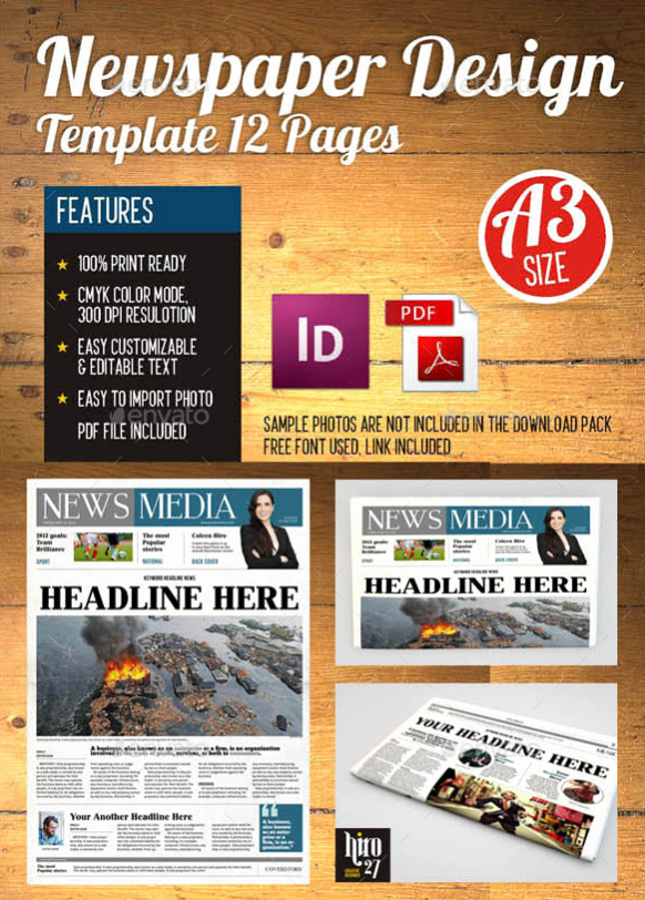 Newspaper Template Indesign Free Best Of 15 Best Indesign Newspaper Templates 2016 Tutorial Zone